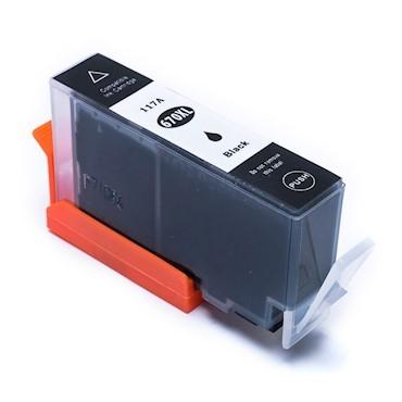 Foto 1 - HP 670XL |Cartucho Compatível| 22,5ml| Cor: PRETO