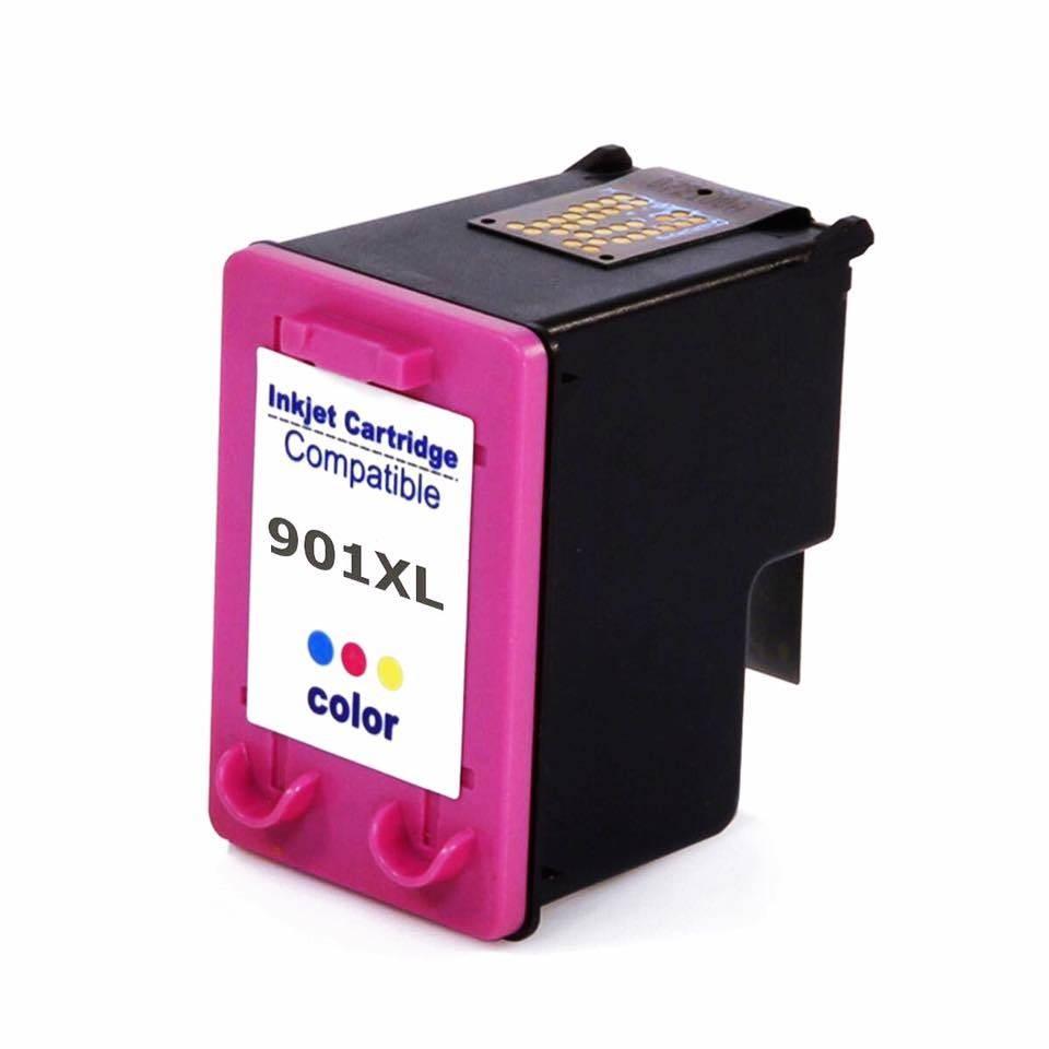 Foto 1 - HP 901XL |Cartucho Compatível| 14ml | Cor: Color | Série 3000