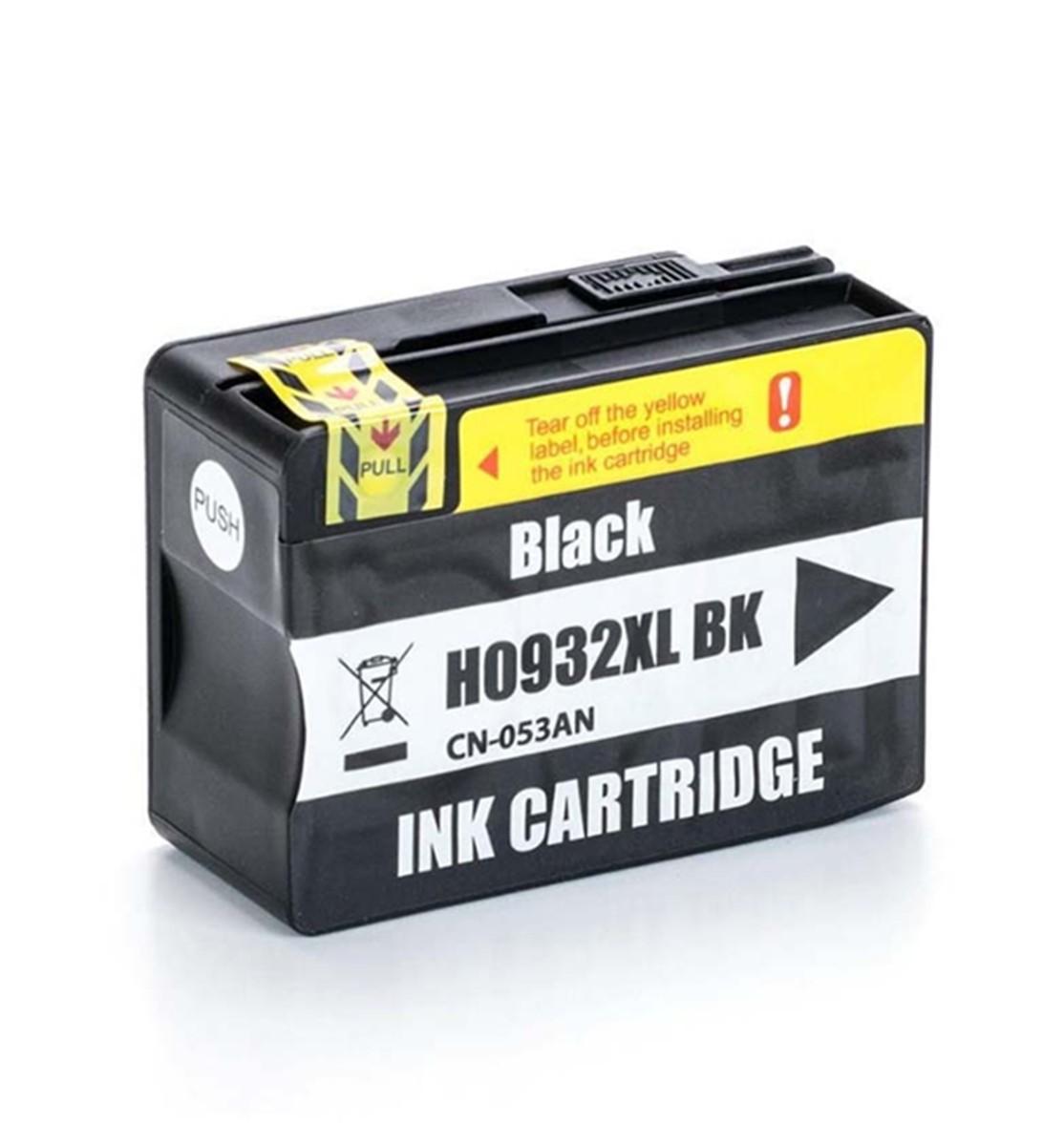 Foto 1 - HP 932XL |Cartucho Compatível| 50ml | Cor: Preto
