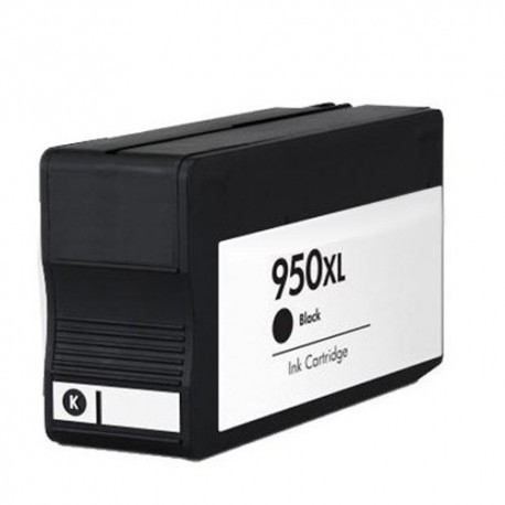 Foto 1 - HP 950XL |Cartucho Compatível| 75ml | Cor: Preto