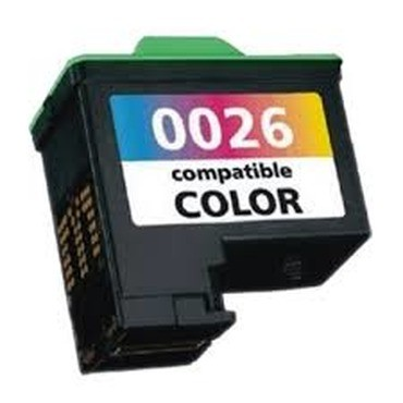 Foto 1 - LEXMARK 26/27 |Cartucho Compatível| 9ml | Cor: Colorido