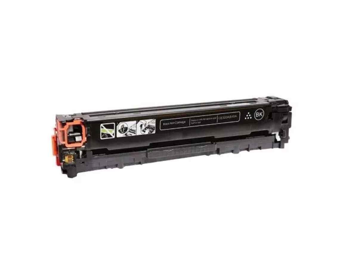 Foto 1 - TONER HP CB540A| CE320A |Cartucho Compatível| 2.2K | Cor: Preto