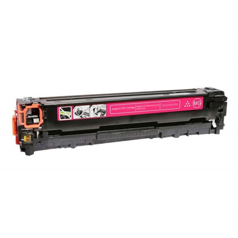 Foto 1 - TONER HP CB543A| CE323A |Cartucho Compatível| 1.4K | Cor: Magenta