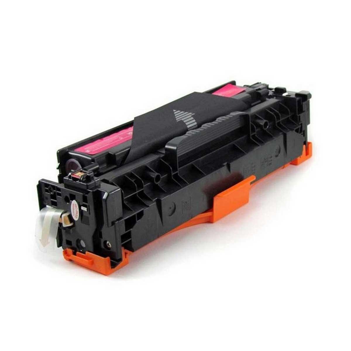 Foto 1 - TONER HP CF383A | CE413A | CB533A | 83A | 312A |Cartucho Compatível| 2,8K |Cor: Magenta