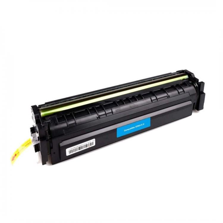 Foto 1 - TONER HP CF501A |Cartucho Compatível| 1,3K | Cor: Cyan