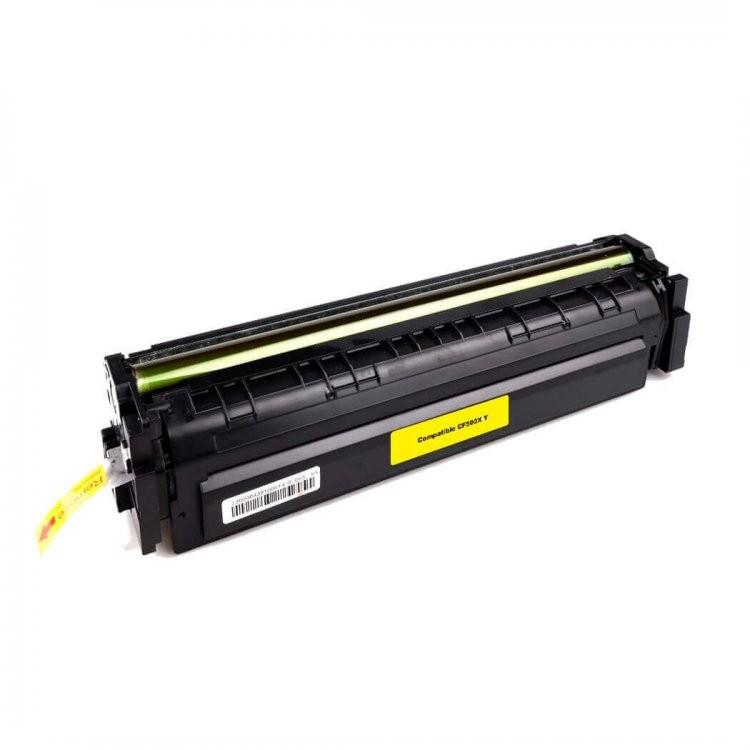 Foto 1 - TONER HP CF502A |Cartucho Compatível| 1,3K | Cor: Yellow
