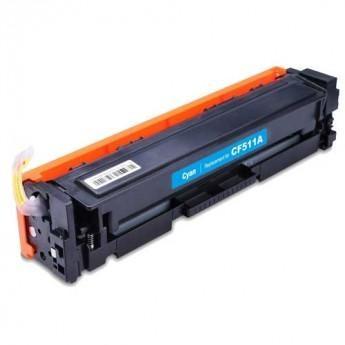 Foto 1 - Toner HP CF511A   CF204A   CF531A  Cartucho Compatível  0,9K   Cor: Cyan