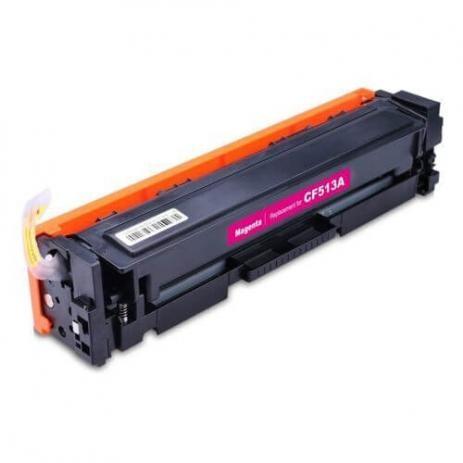 Foto 1 - Toner HP CF513A | CF204A | CF533A |Cartucho Compatível| 0,9K | Cor: Magenta