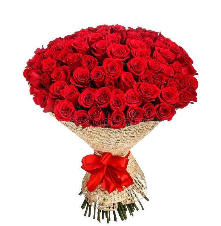 Foto 1 - Bouquet 100 rosas - Para um Amor de Verdade