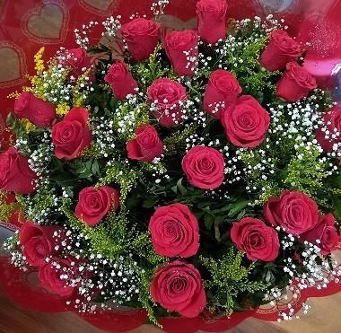 Foto 1 - Bouquet 24 rosas vermelhas - Promoção