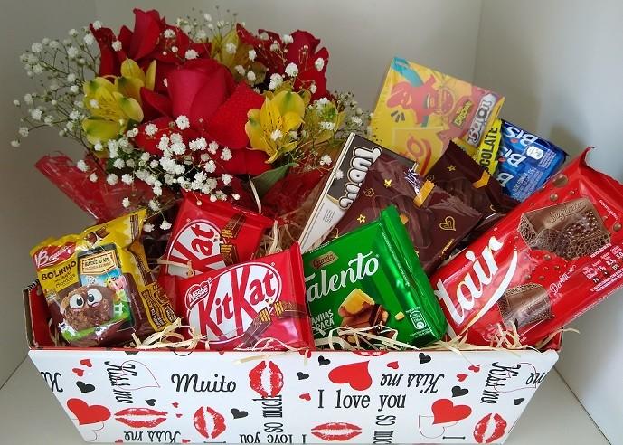 Foto 1 - Chocolates e Rosas
