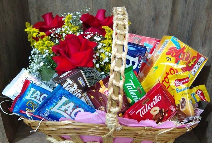 Foto 1 - Cesta de Chocolates