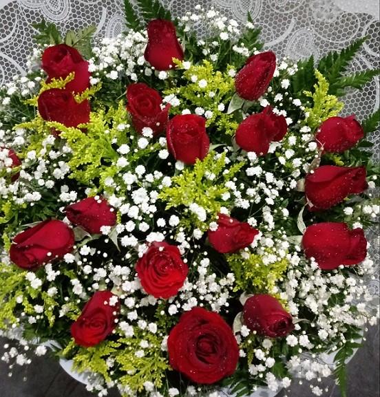Foto 1 - Bouquet 18 rosas vermelhas