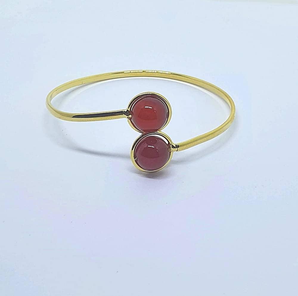 Foto 1 - Bracelete com Bolinhas