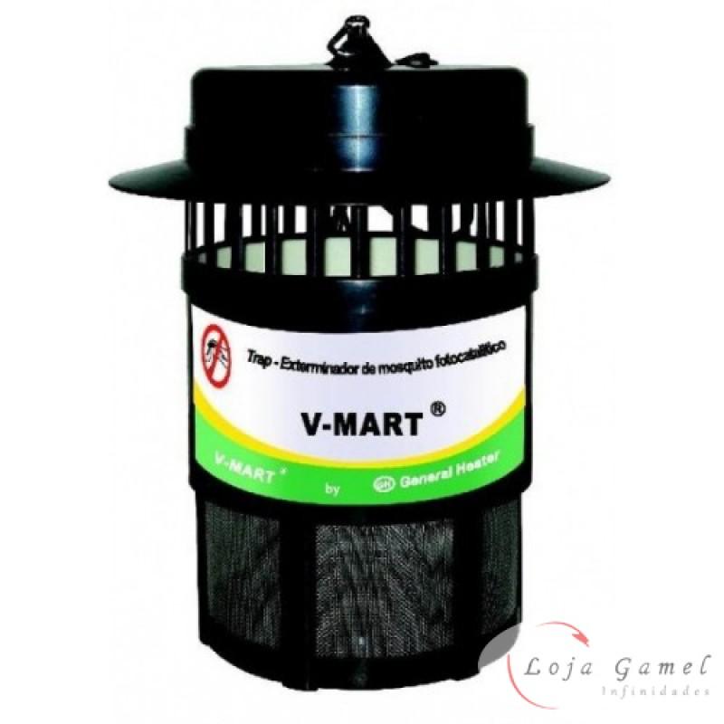 Foto2 - Armadilha Elétrica Mata Mosquitos Pernilongos 120m²