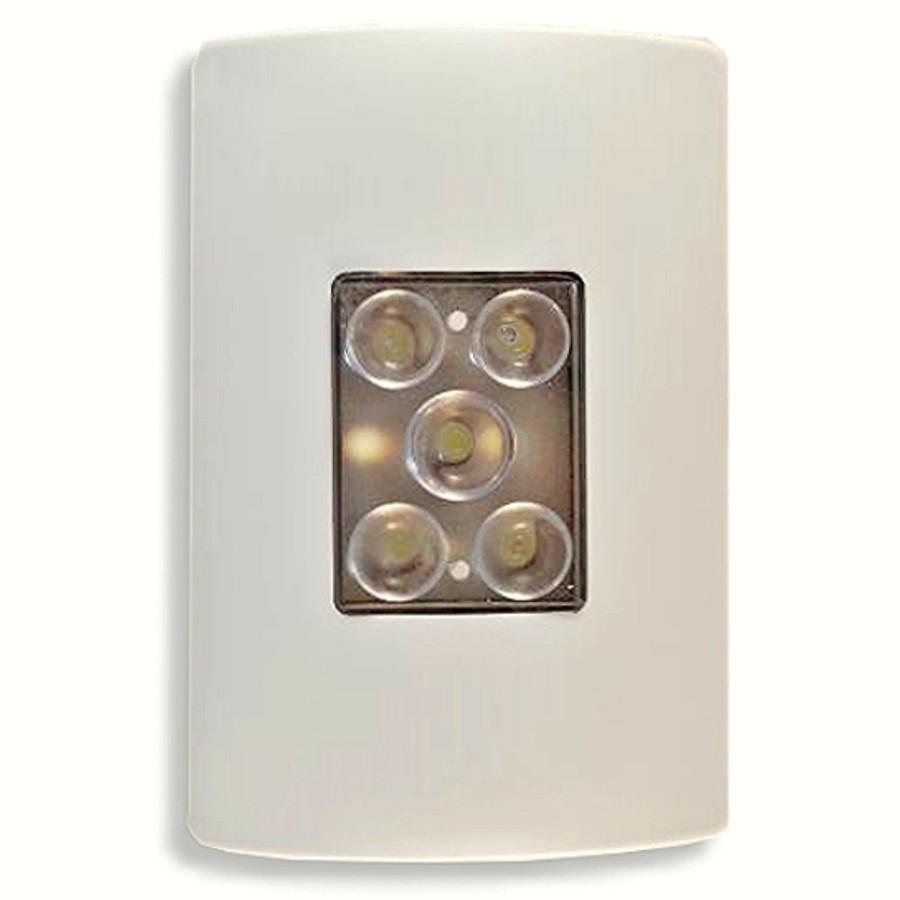 Foto 1 - Balizador LED de Emergência de Embutir