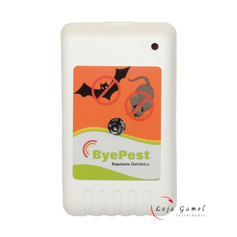 Foto 1 - Repelente Eletrônico Espanta Ratos E Morcegos Byepest