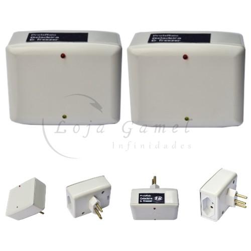 Foto2 - Kit Protetor de Raio para Geladeira e Freezer 2 Unidades