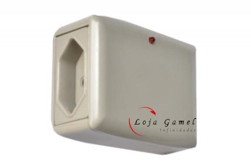 Foto4 - Protetor de Raio Eletro 2 Tomadas 10A TV Som Notebook Modem Impressora Ventilador
