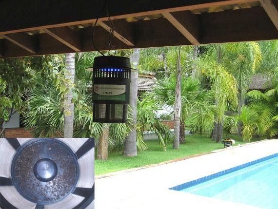 Foto4 - Armadilha Elétrica Mata Mosquitos Combate o Mosquito da Dengue