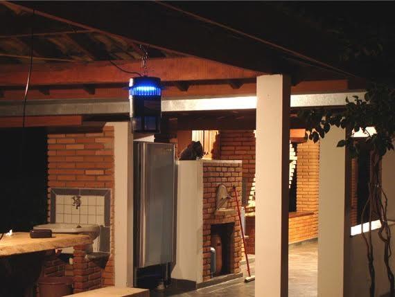 Foto6 - Armadilha Elétrica Mata Mosquitos Pernilongos 120m²
