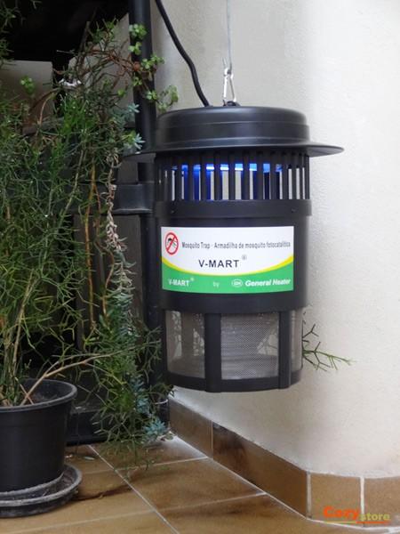 Foto3 - Armadilha Elétrica Mata Mosquitos Combate o Mosquito da Dengue