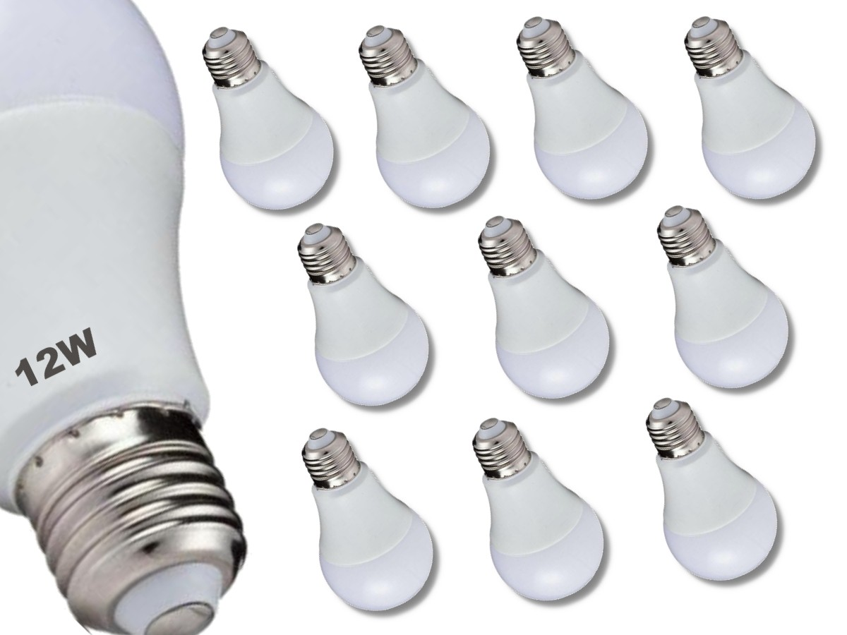 Foto 1 - Kit 10Un Lâmpada LED Bulbo Autodimerizável 12W Não Precisa de Dimmer
