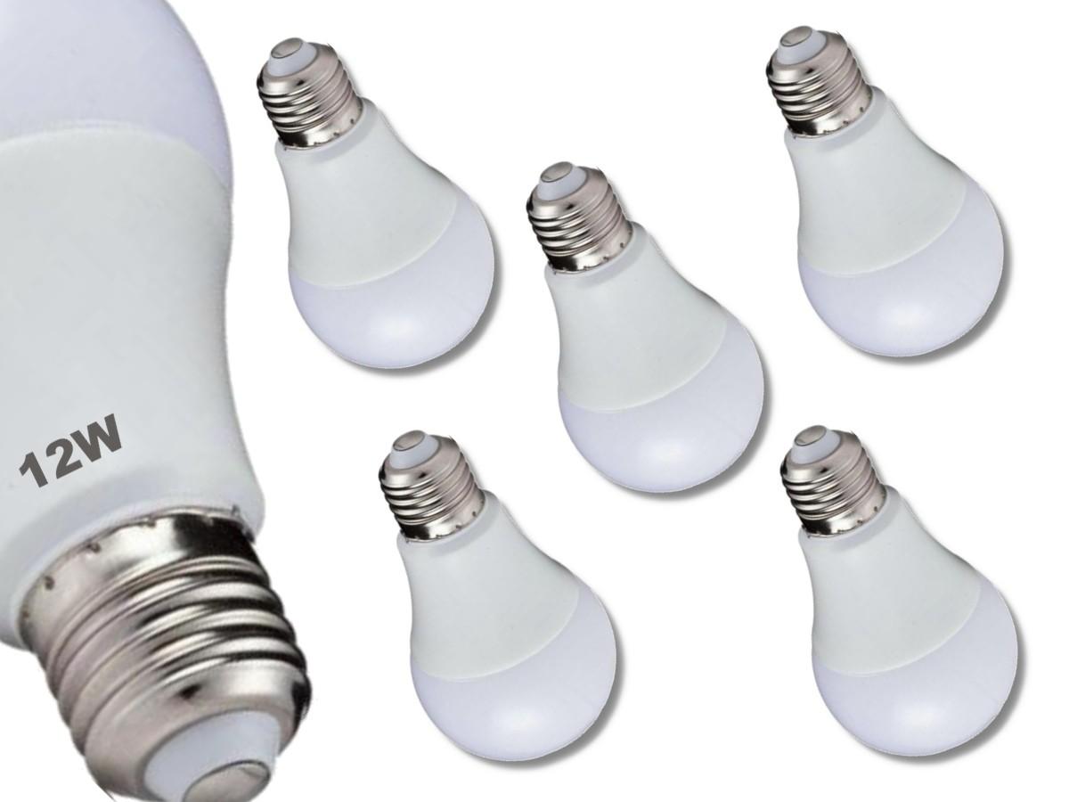 Foto 1 - Kit 5Un Lâmpada LED Bulbo Autodimerizável 12W Não Precisa de Dimmer
