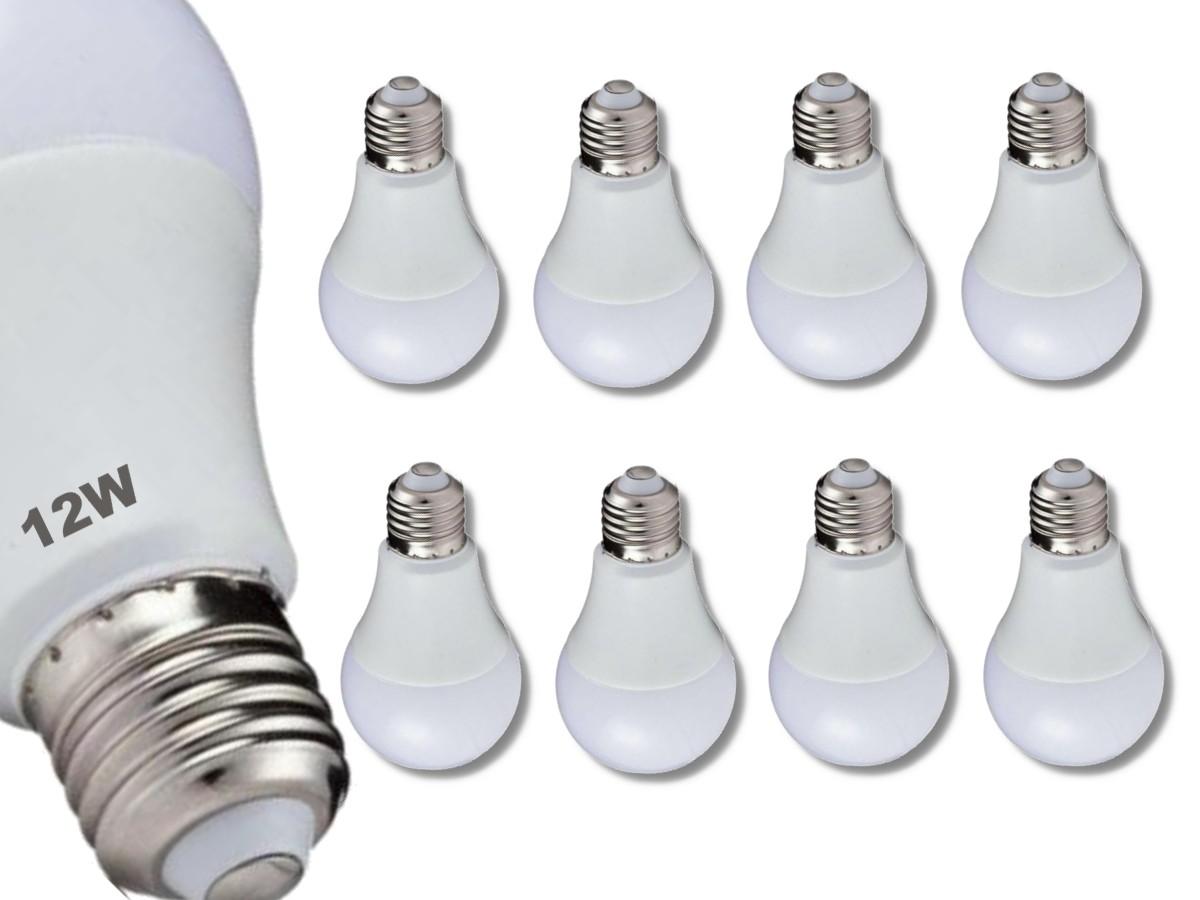 Foto 1 - Kit 8Un Lâmpada LED Bulbo Autodimerizável 12W Não Precisa de Dimmer