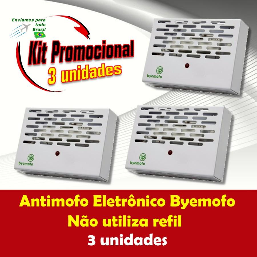 Foto 1 - Kit Byemofo Antimofo Eletrônico 3 Unidades