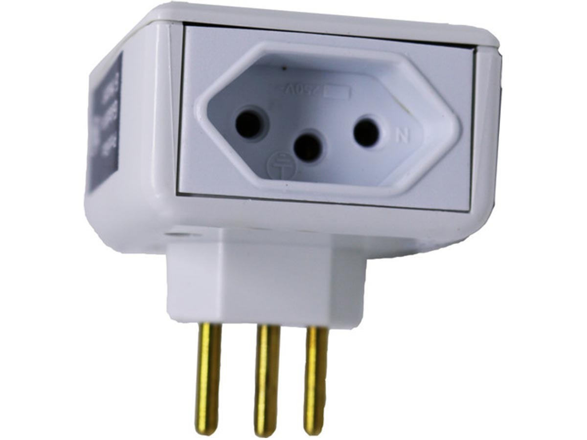 Foto3 - Kit Proteraio Protetor de Raio 1un Eletro 10A 127V 2un Eletro 20A Bivolt