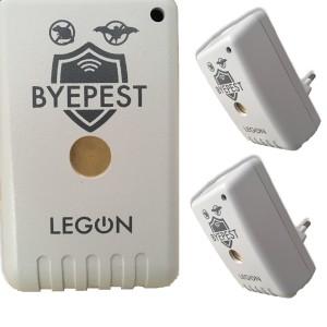 Foto1 - Kit Repelente Eletrônico Espanta Ratos e Morcegos Byepest 2Un