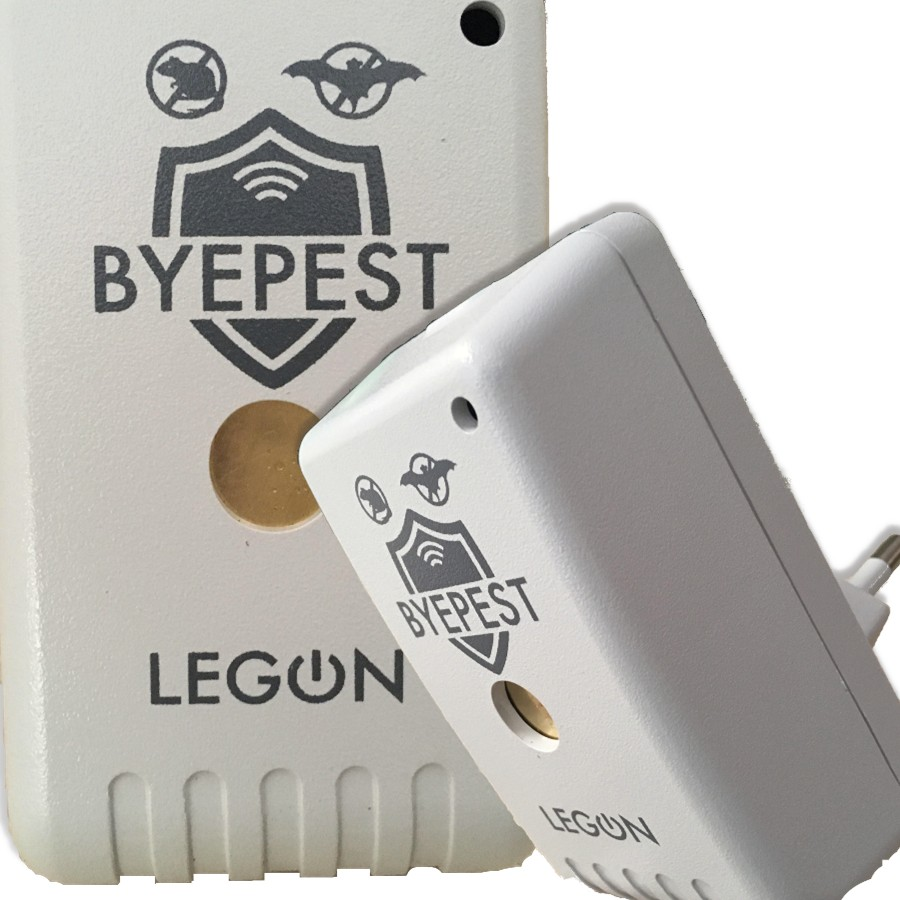 Foto2 - Kit Repelente Eletrônico Espanta Ratos e Morcegos Byepest 3Un