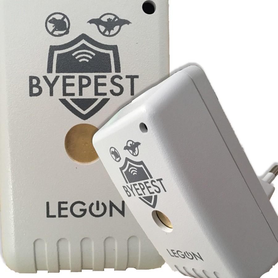 Foto2 - Kit Repelente Eletrônico Espanta Ratos e Morcegos Byepest 5Un
