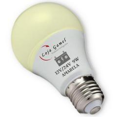 Foto2 - Lâmpada Led Bateria 12V / 24V - 9W 800 Lumens