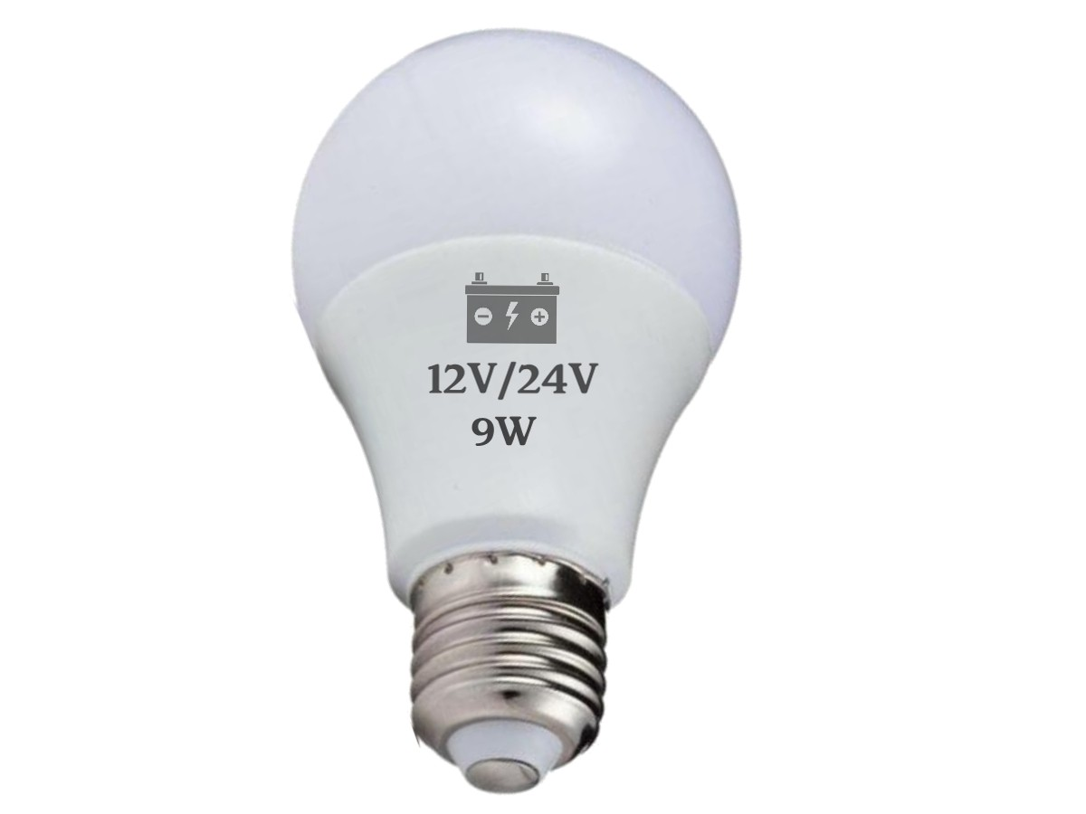 Foto5 - Lâmpada Led Bateria 12V / 24V