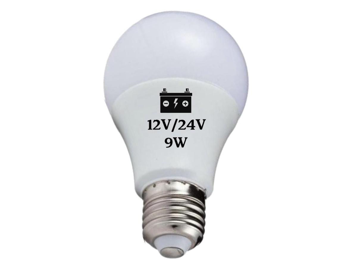 Foto3 - Lâmpada Led Bateria 12V / 24V
