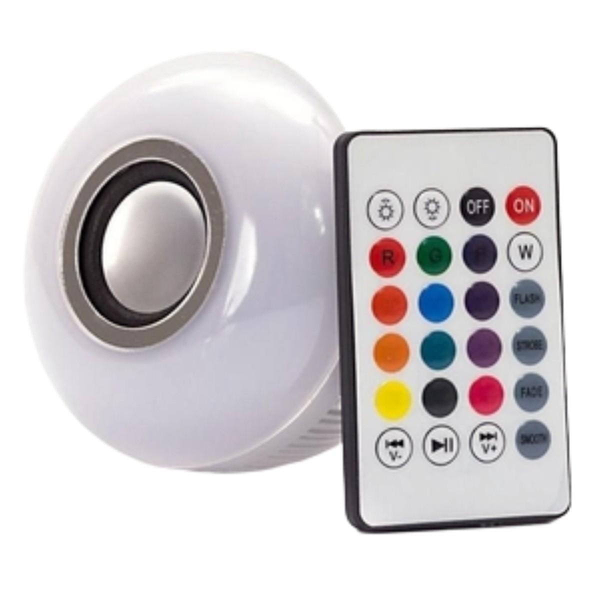Foto4 - Lâmpada Led Bluetooth Music Bulb Kit 2Un