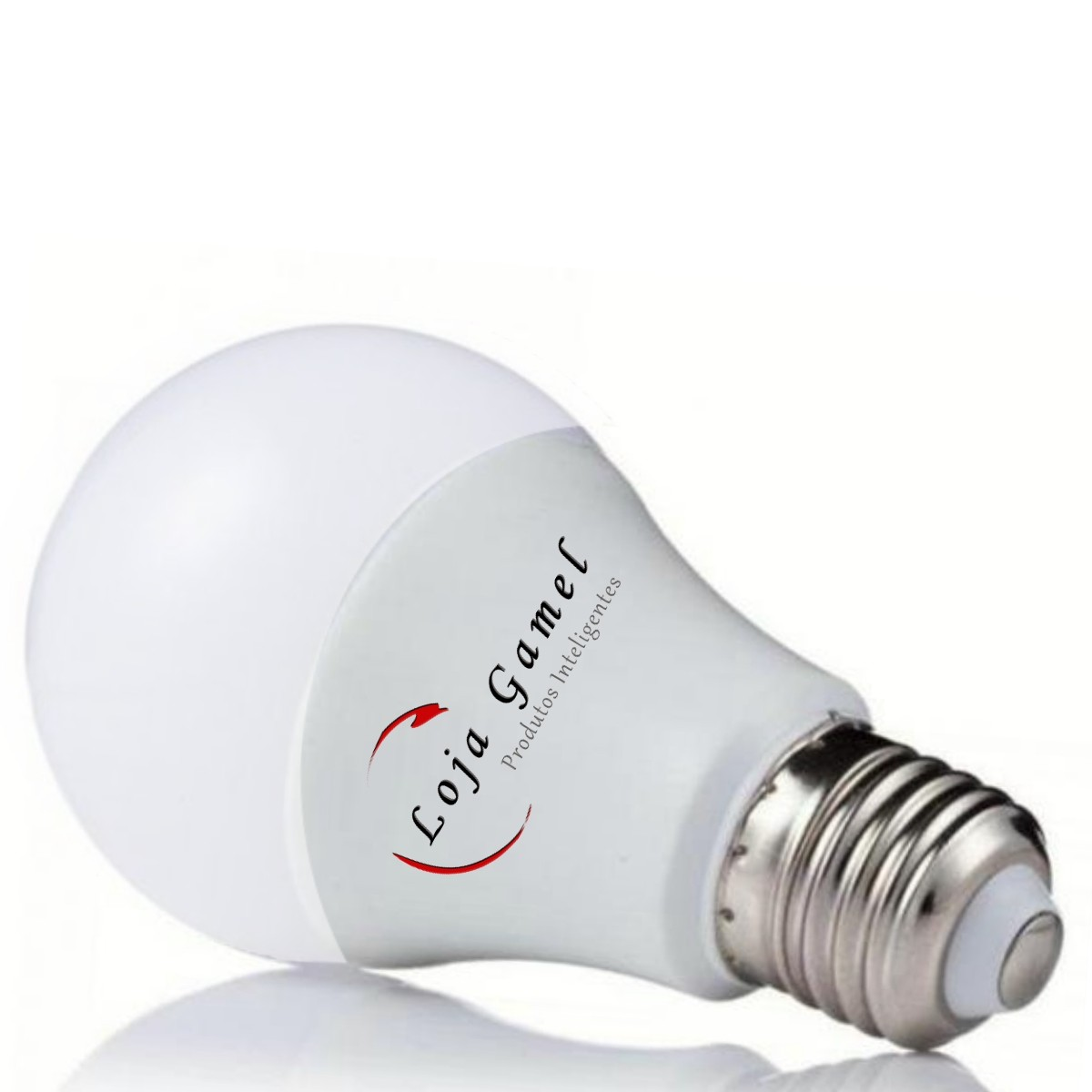 Foto7 - Lâmpada LED Bulbo Autodimerizável 12W Luz Branca 6000K Kit 10un