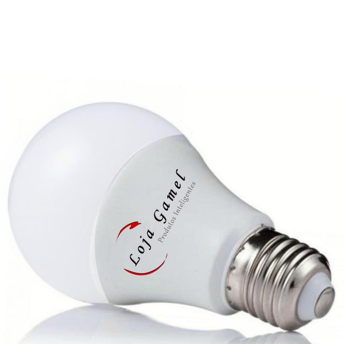Foto7 - Lâmpada LED Bulbo Autodimerizável 12W Luz Branca 6000K Kit 5un