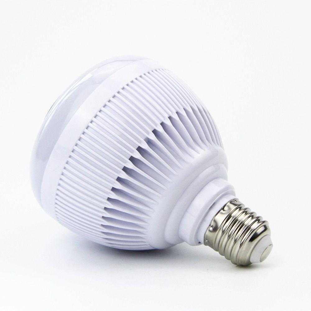 Foto5 - Lâmpada LED Toca Música Bluetooth RGB Muda de Cor Controle Remoto