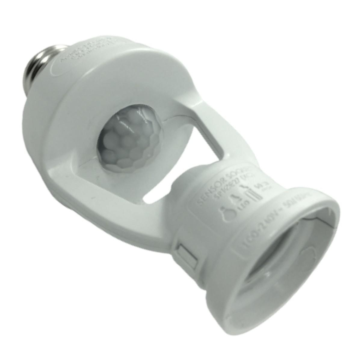 Foto3 - Sensor de Presença Soquete E27 XControl Ajuste de Tempo pelo APP Kit 5Un