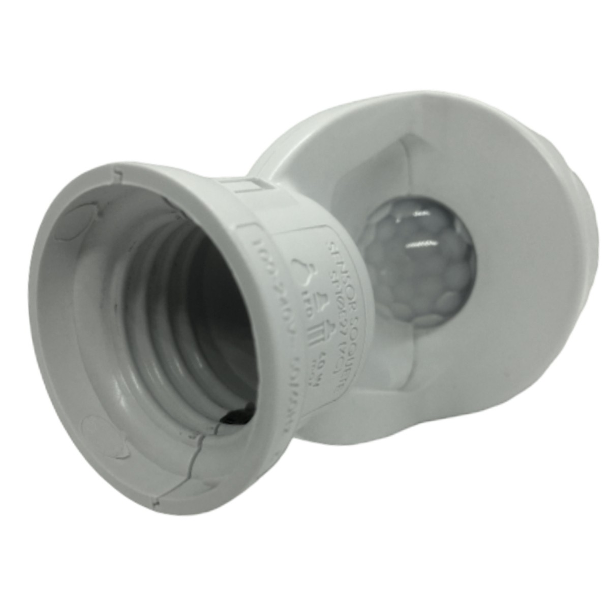 Foto7 - Sensor de Presença Soquete E27 XControl Ajuste de Tempo pelo APP Kit 5Un