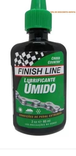 Imagem do produto Óleo Lubrificante Finish Line Wet Úmido 19.3 ml
