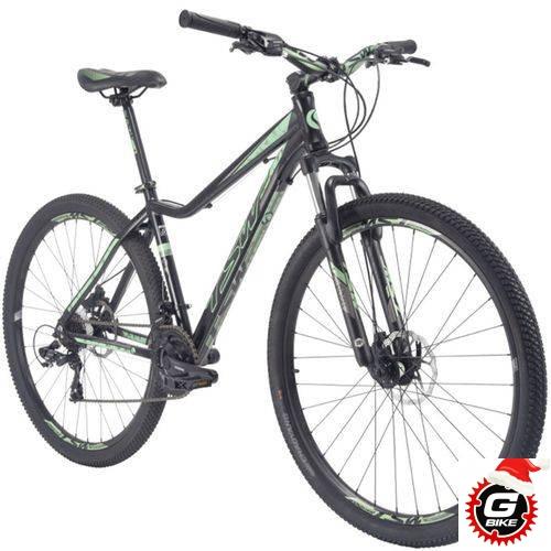 Imagem do produto Bicicleta Aro 29ER Freio a Disco 21V Preto/Verde - Tsw Posh