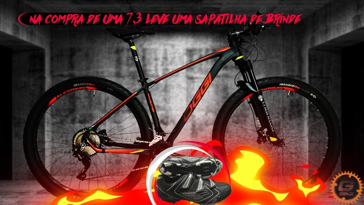 Imagem do produto SUPER PROMOÇÃO BICICLETA OGGI 7.3+ SAPATILHA GRATIS