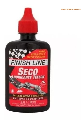 Imagem do produto Oléo Lubrificante Finish Line Dry Teflon Seco 19.3 ml