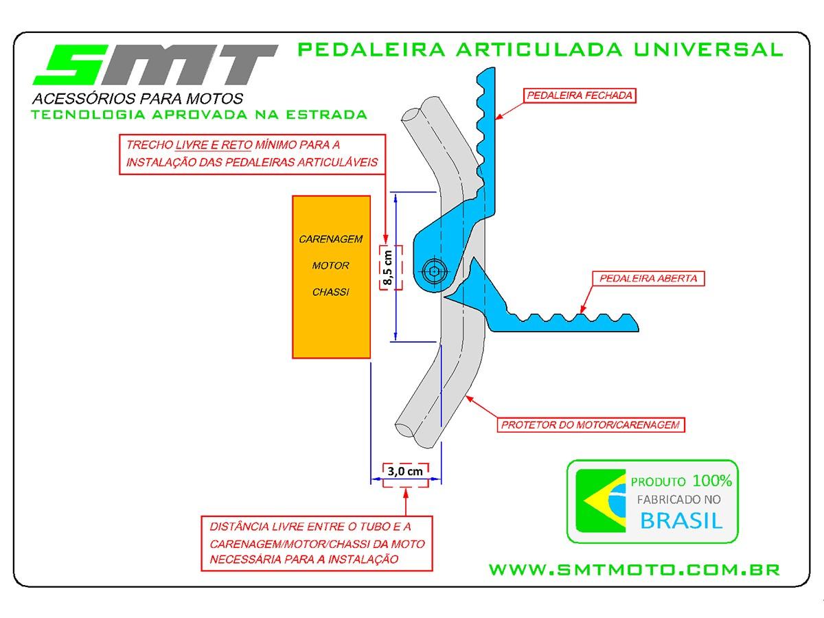 Foto8 - PEDALEIRA ARTICULADA UNIVERSAL