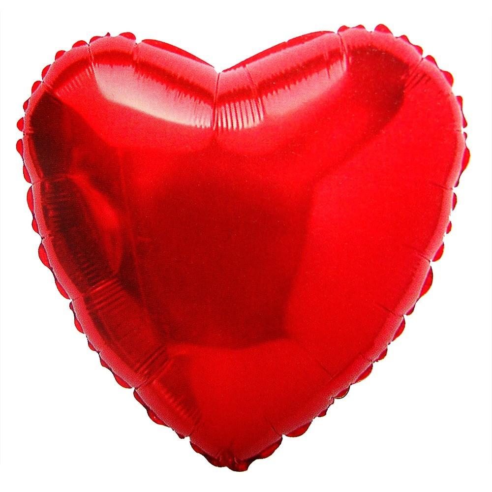 Foto 1 - Balão Coração No Gás Hélio
