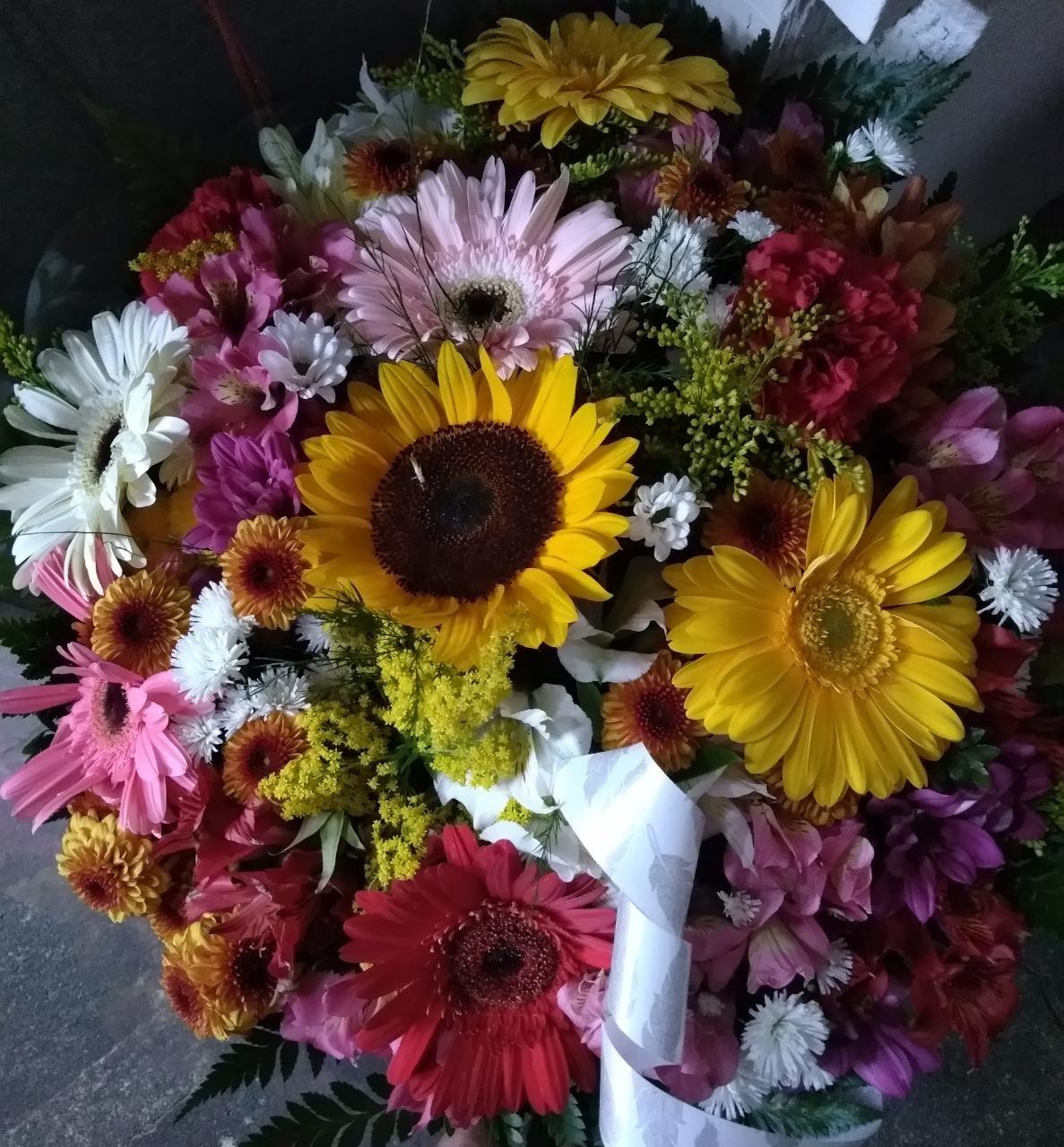 Foto4 - Buquê Tropical Flores Selecionadas
